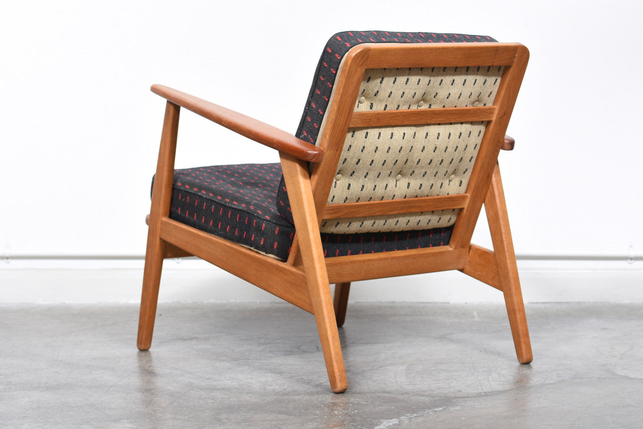 1950s lounger with reversible cushions