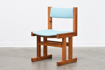 Three available: 1970s pine chairs by Farsø Stolefabrik