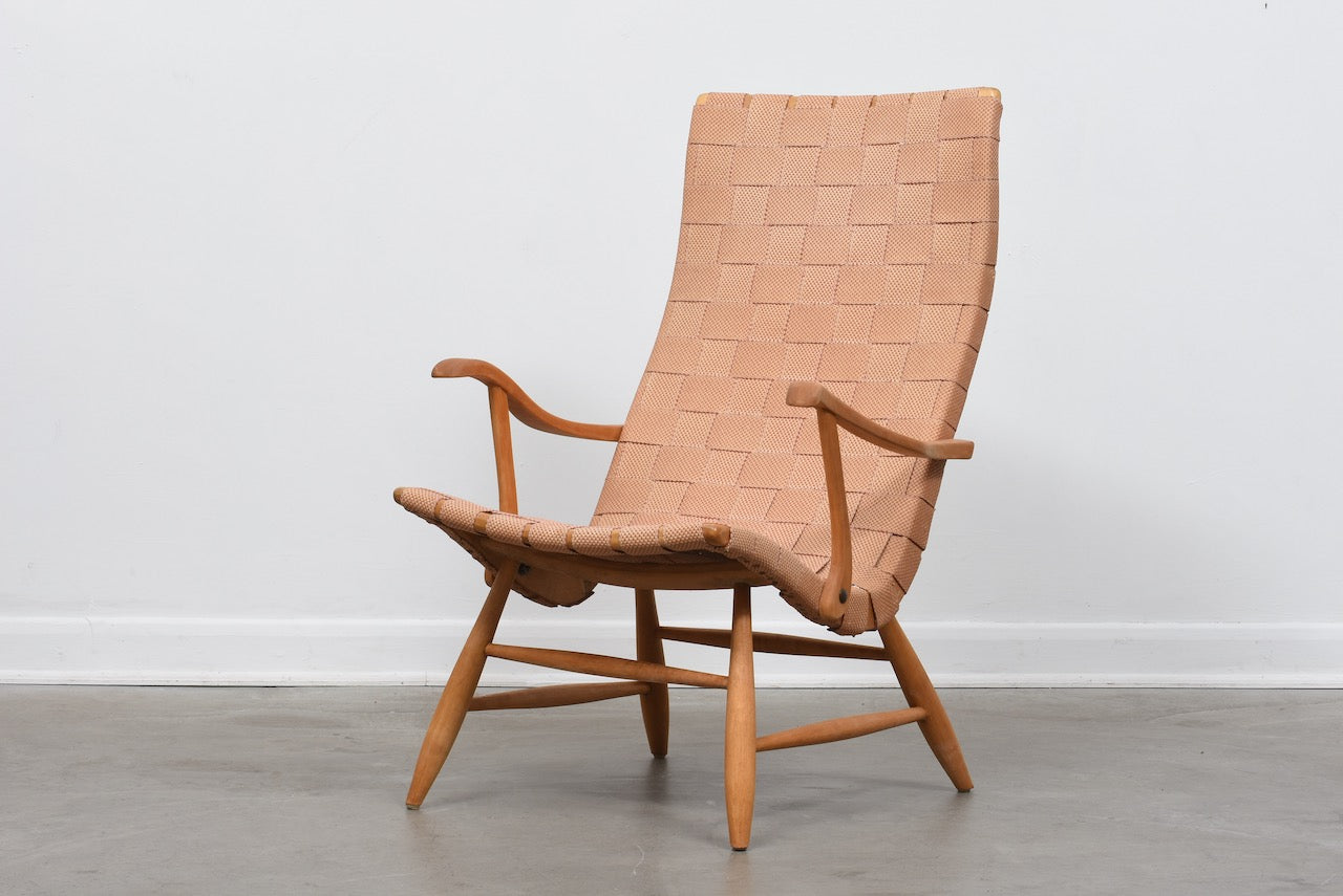 1940s lounge chair by Yngve Ekström