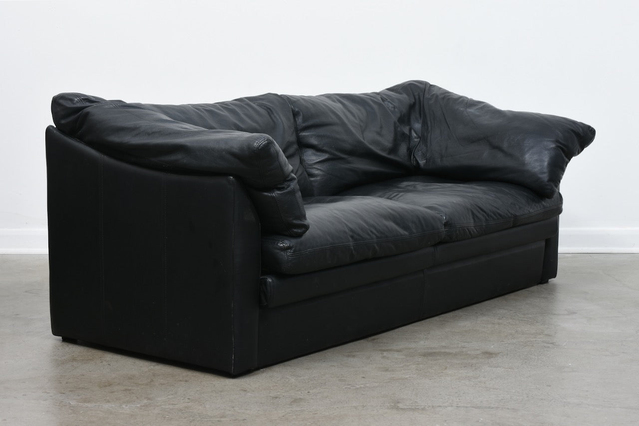 1980s leather sofa by Stouby