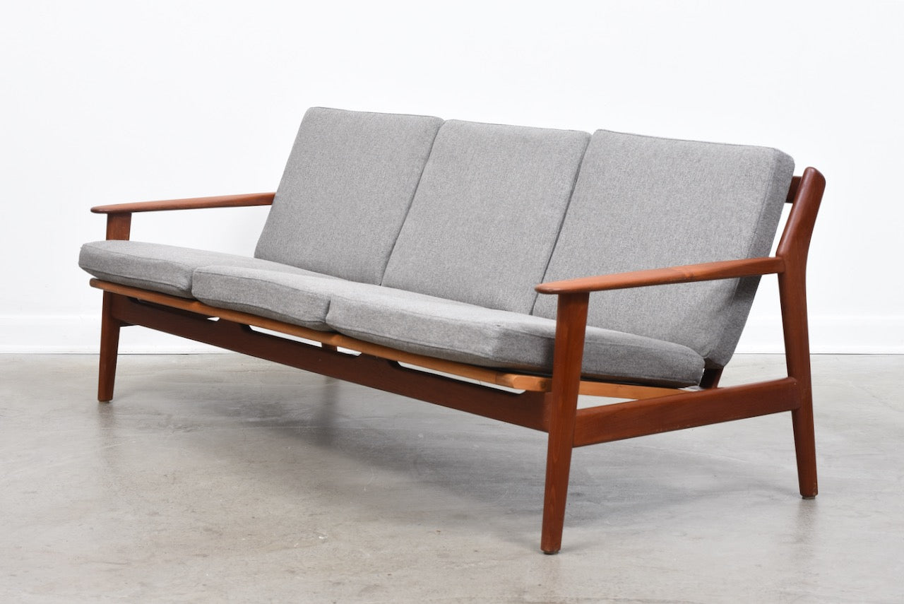 1960s teak sofa by Poul Volther