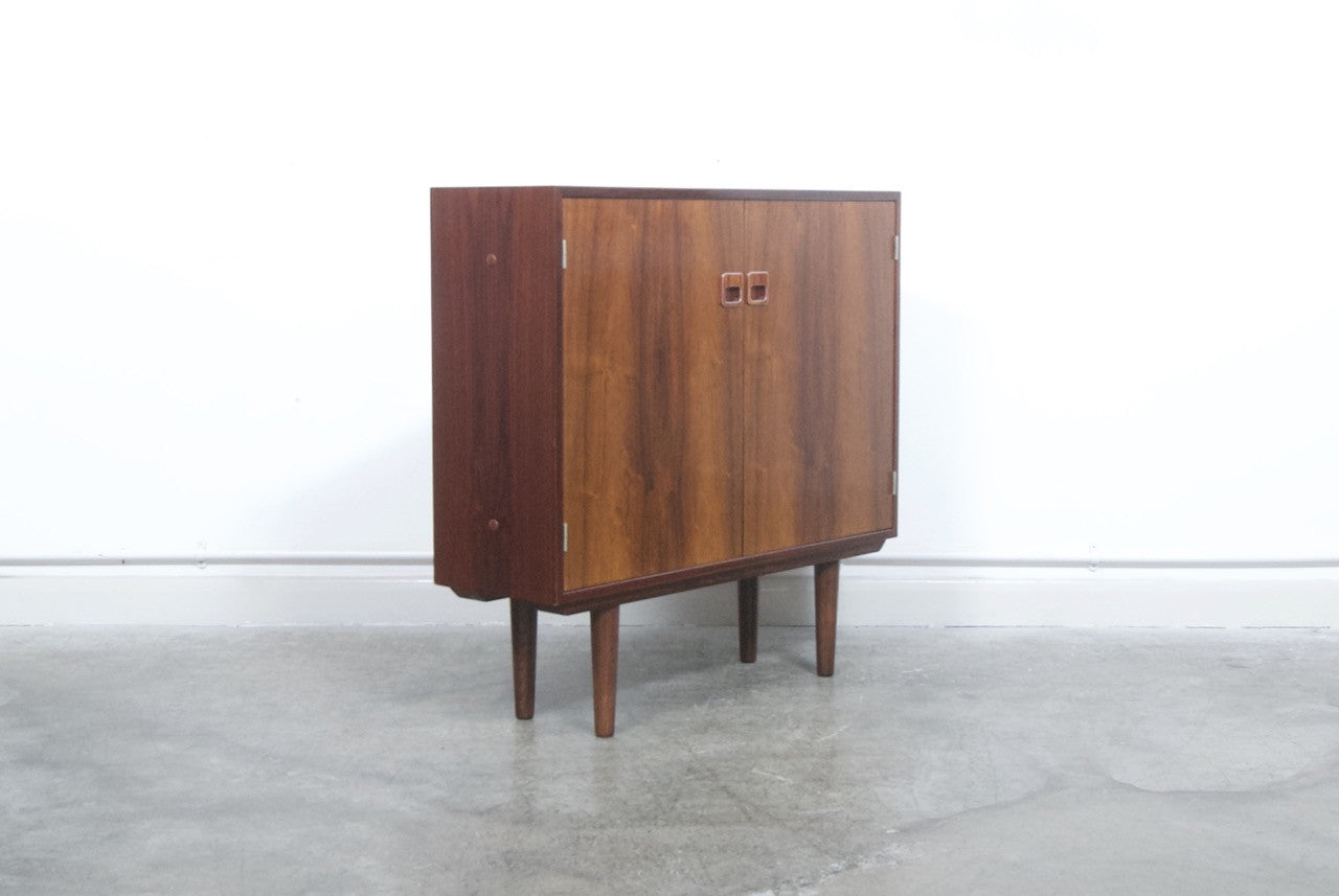 Not specified Freestanding rosewood bar cabinet