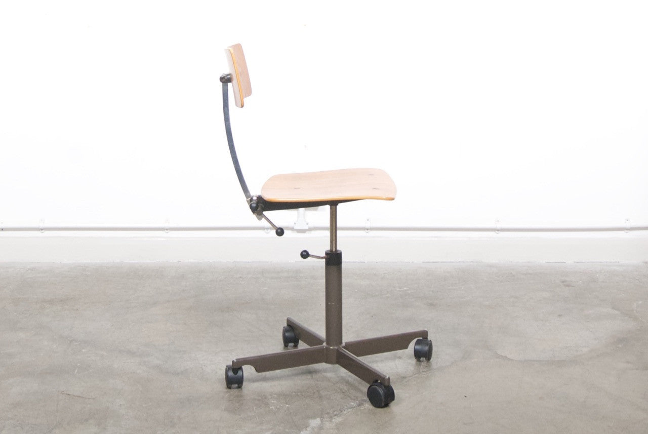 Not specified Architect chair with teak seat/back