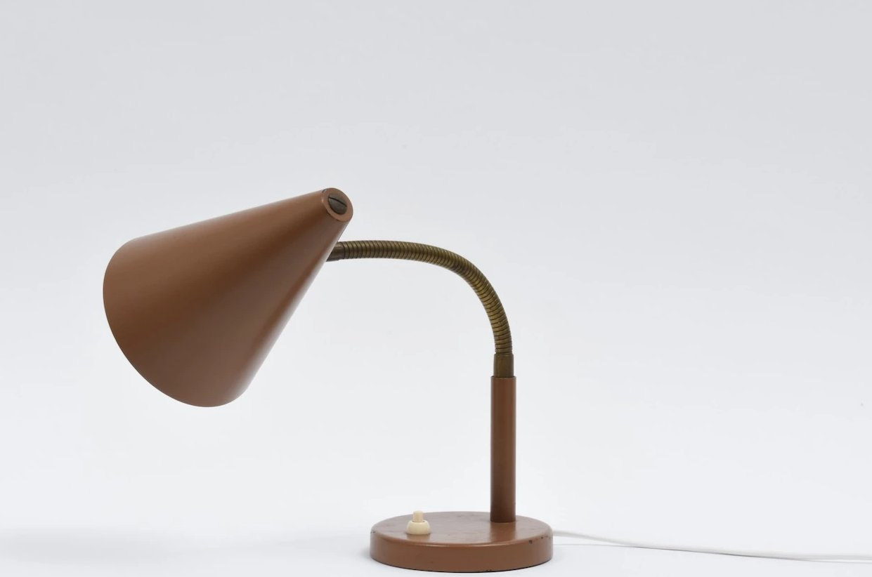 1950s Danish table lamp