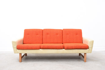 1970s Norwegian three seat sofa