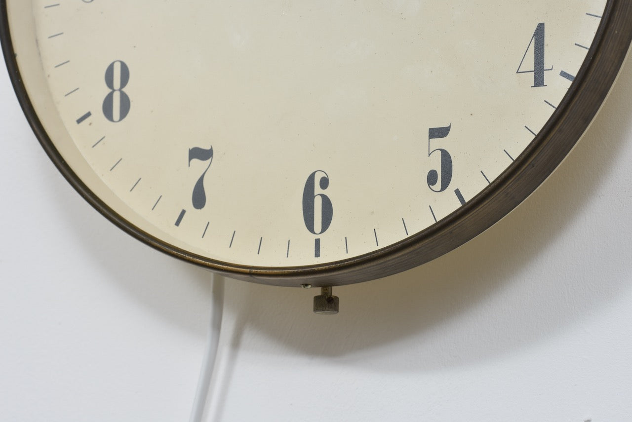 Vintage wall clock by Eltime