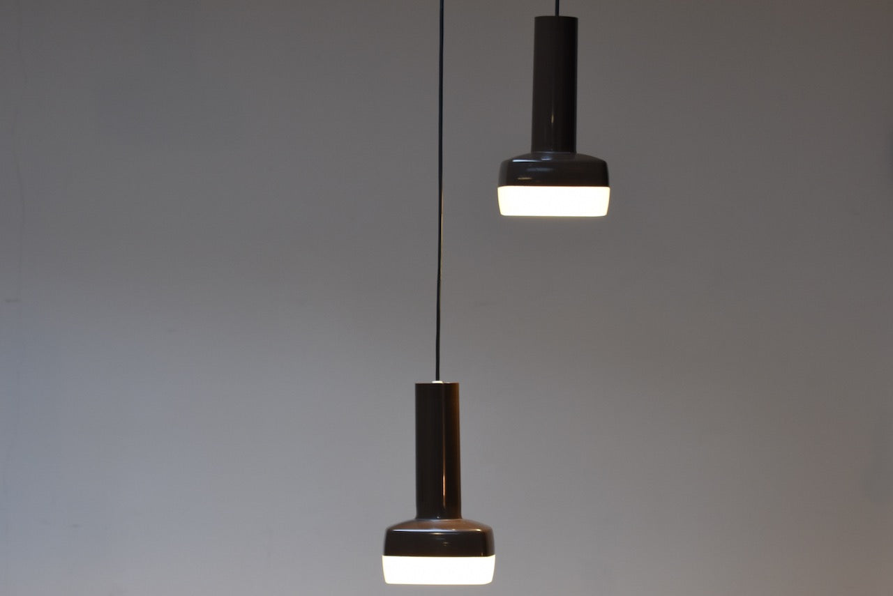 Two available: Danish ceiling pendants