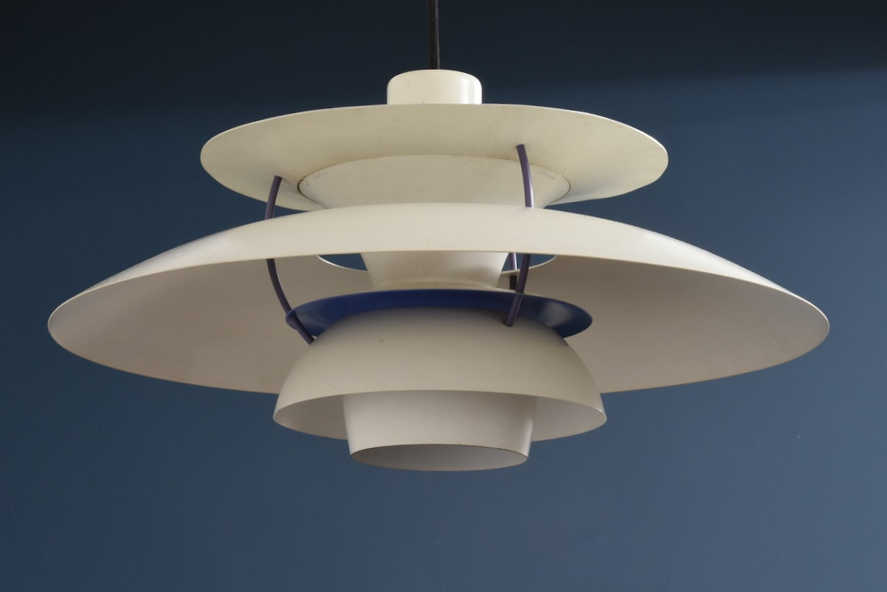 First edition PH 5 ceiling light by Poul Henningsen