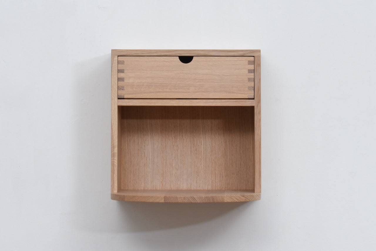 Radius wall cabinet by Mot & Bergstøm for FDB Møbler