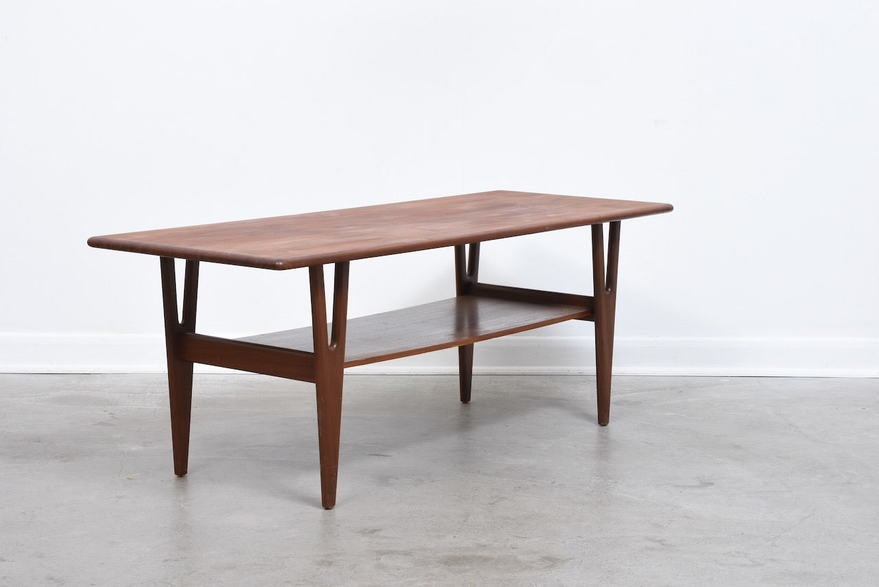 1960s teak coffee table