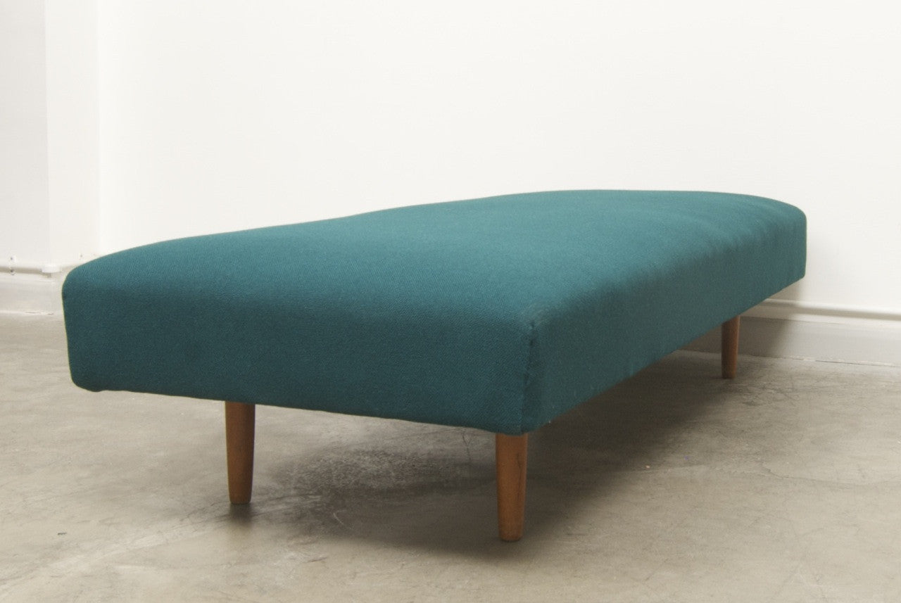 1950s daybed with new upholstery