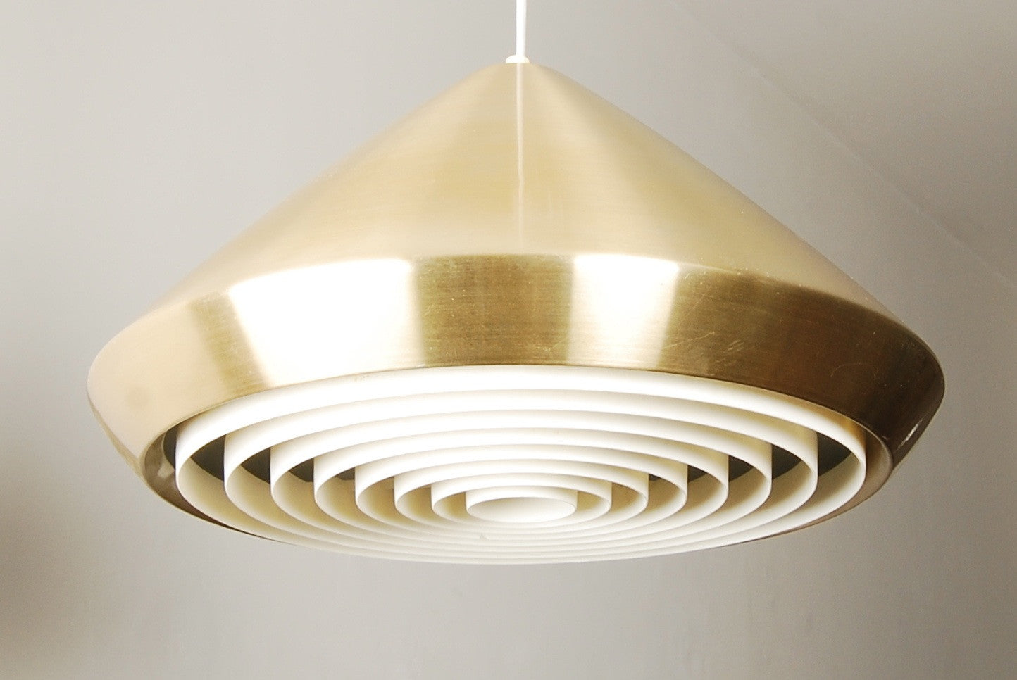 Chase & Sorensen Brass ceiling light