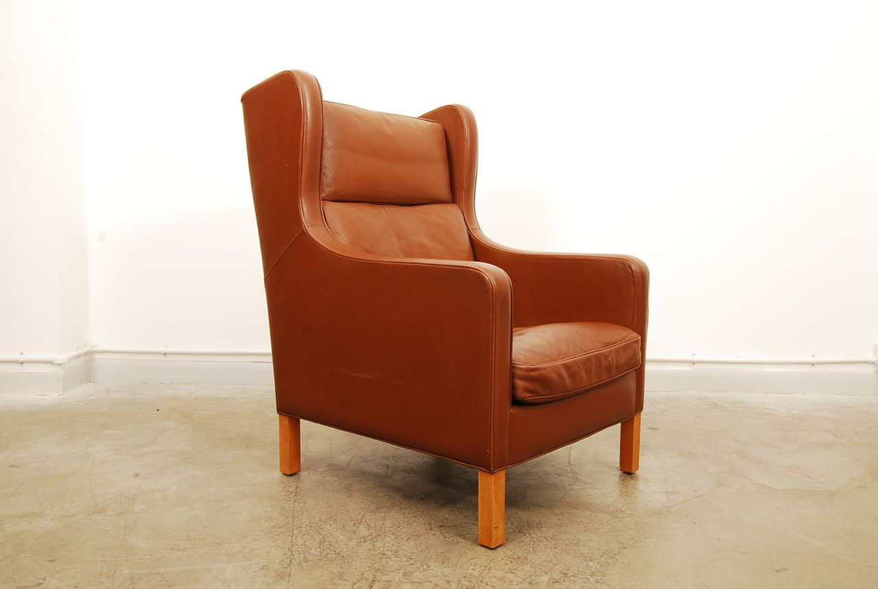 High back club chair by Stouby