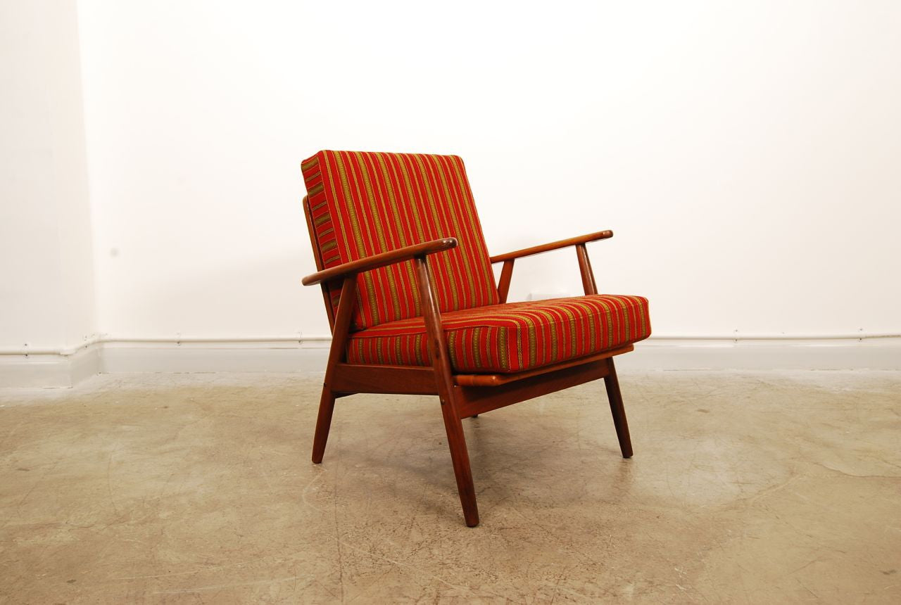 Teak lounger no. 1