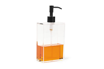 Clear soap dispenser by Nomess - Large