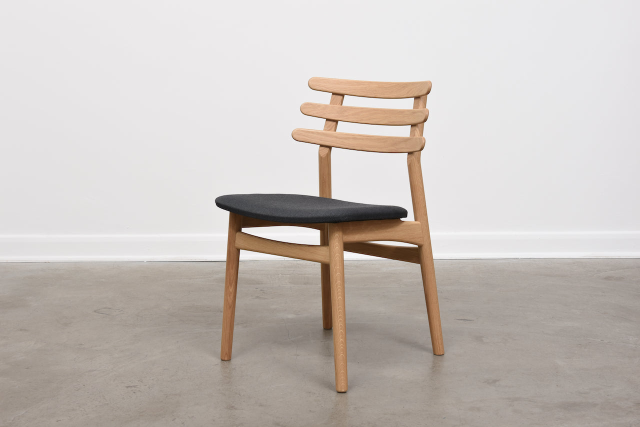 J48 chair by Poul M. Volther for FDB Møbler - Anthracite