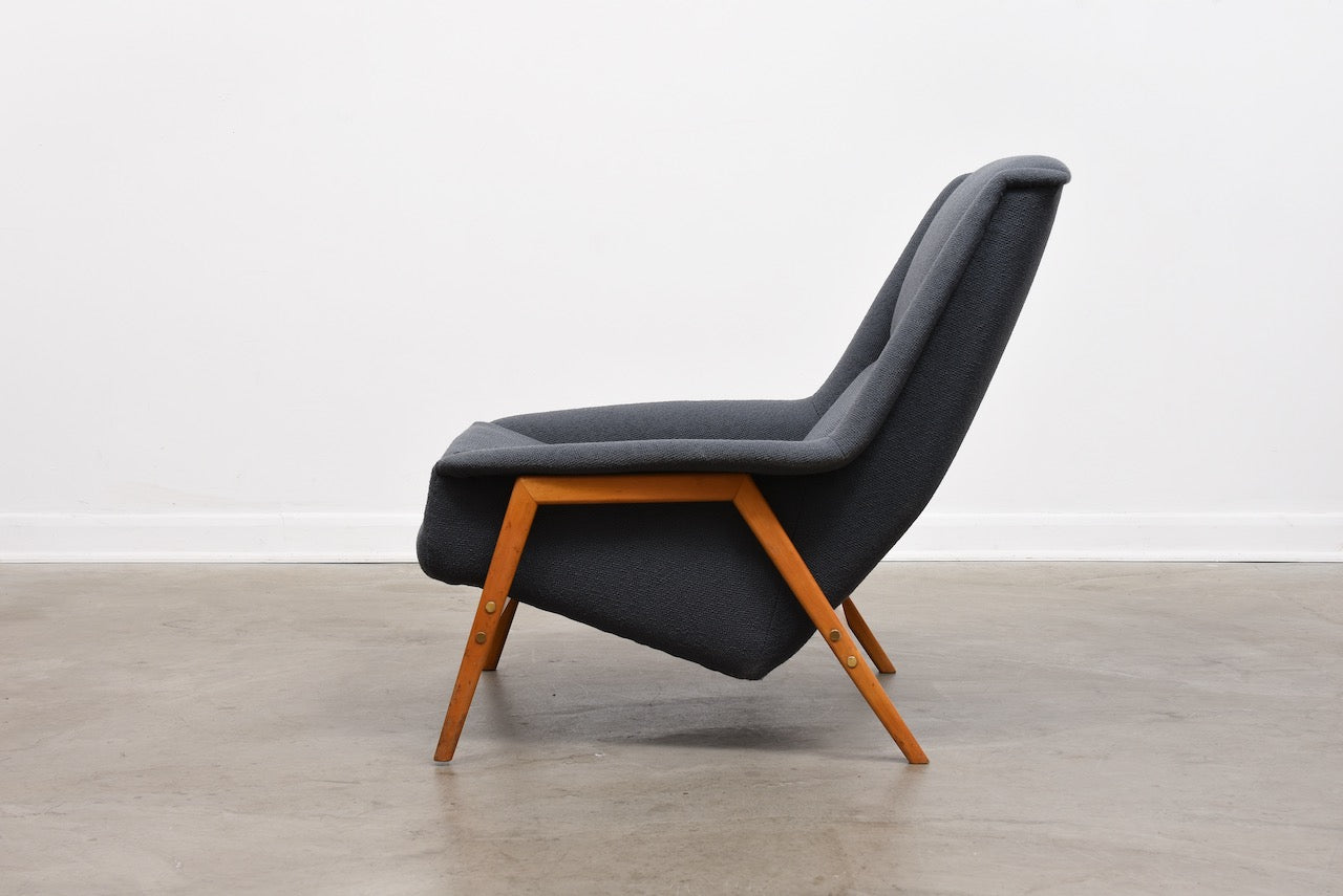 1960s lounger by Folke Ohlsson for DUX