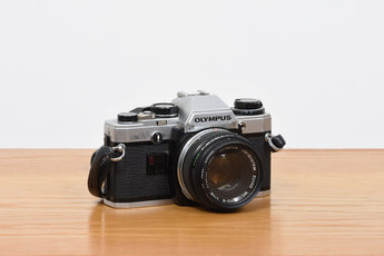 1970s OM10 camera + lenses by Olympus