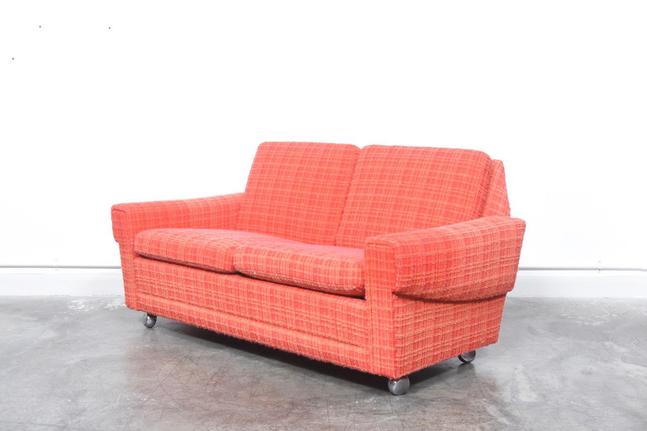 Not specified Two seat wool sofa
