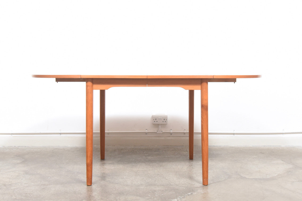 PrebenMar17 Extending dining table with removable drop leaves