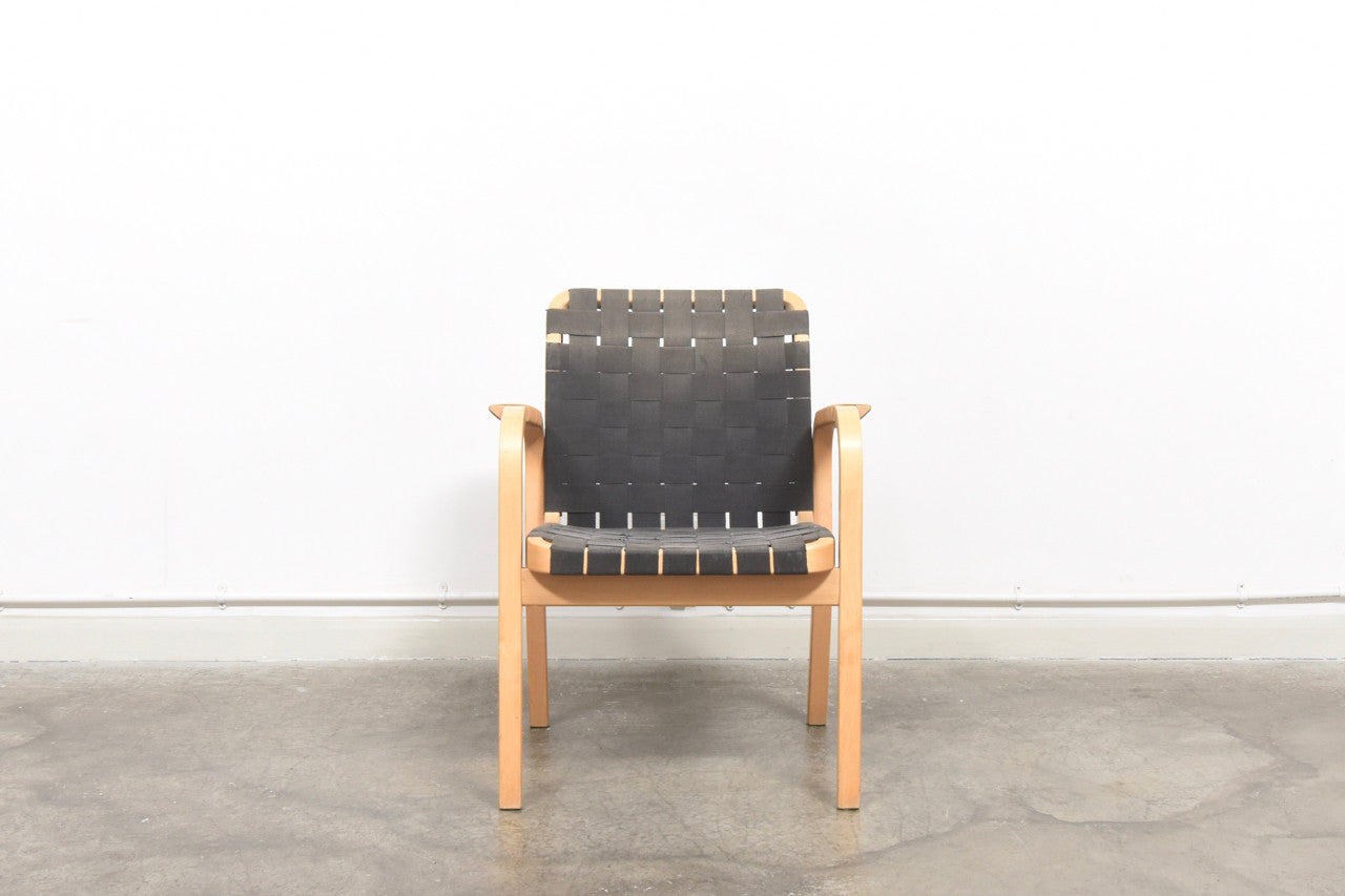 Two available: Armchair 45 by Alvar Aalto