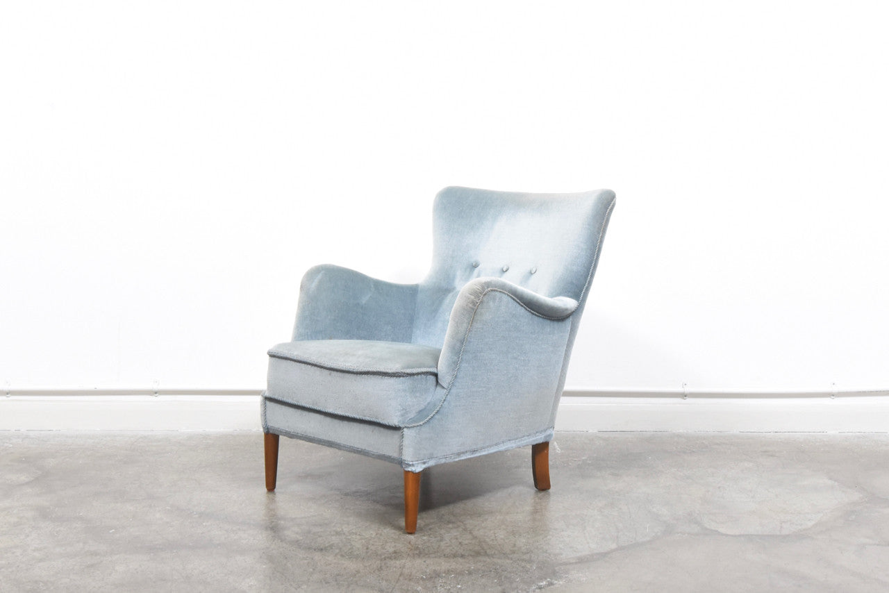 1950s Accent Chairs.1950s Occasional Chair In Raylon