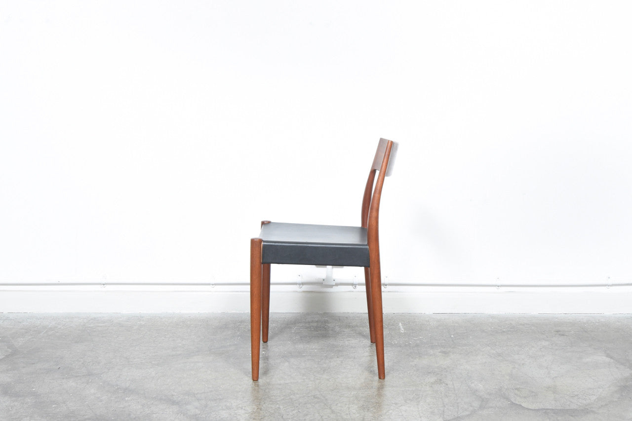 Set of four dining chairs by Arne Hovmand Olsen