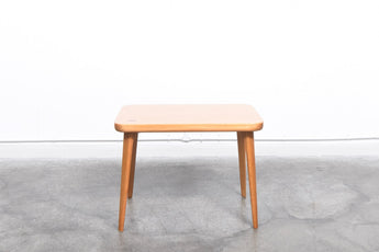 Beech table by Fritz Hansen