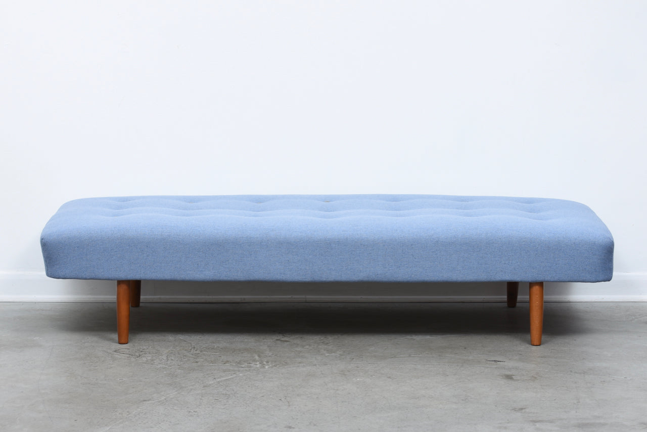 1960s daybed with new upholstery