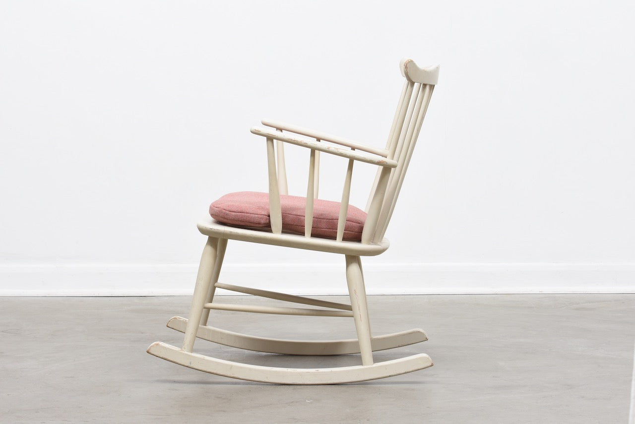 Rocking chair by Børge Mogensen