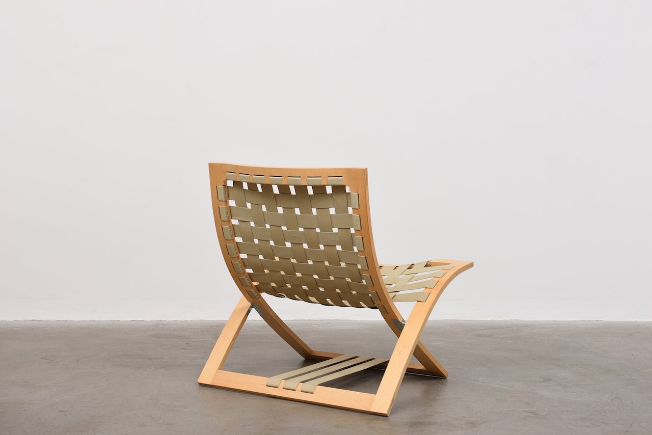 B60 folding lounge chair by Börge Lindau