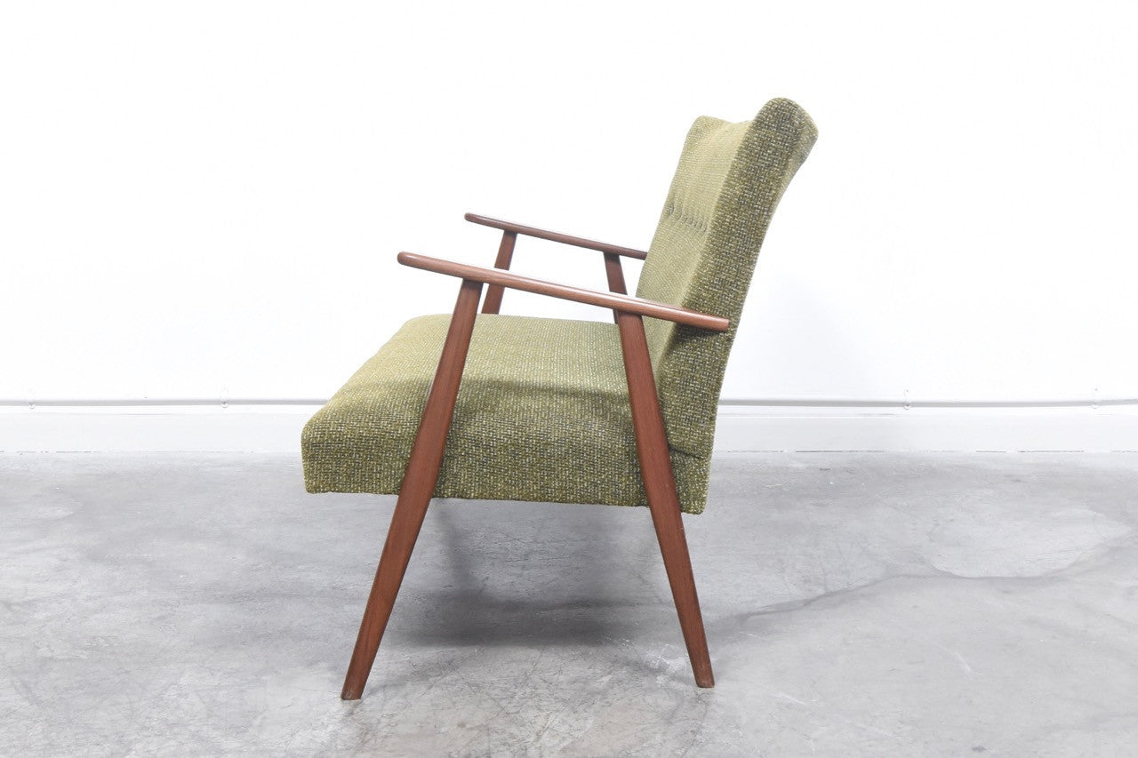 Not specified 1950s two seater with teak arms