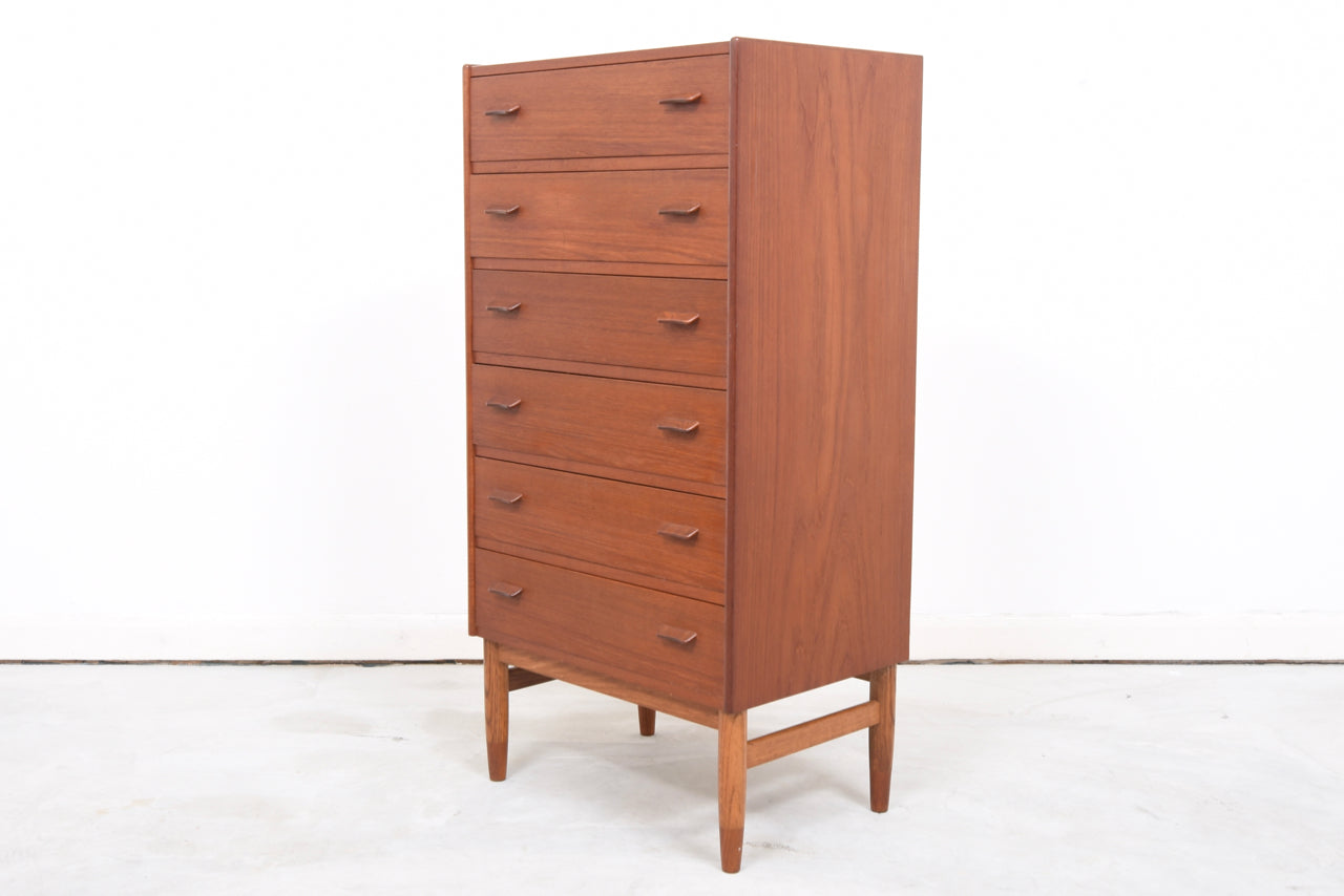 Teak chest of drawers by poul volther chase sorensen for Scandinavian furniture london