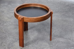 Rosewood side table by Dyrlund