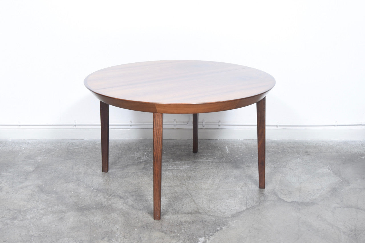 Not specified Extending rosewood dining table by Shou Andersen Møbelfabrik