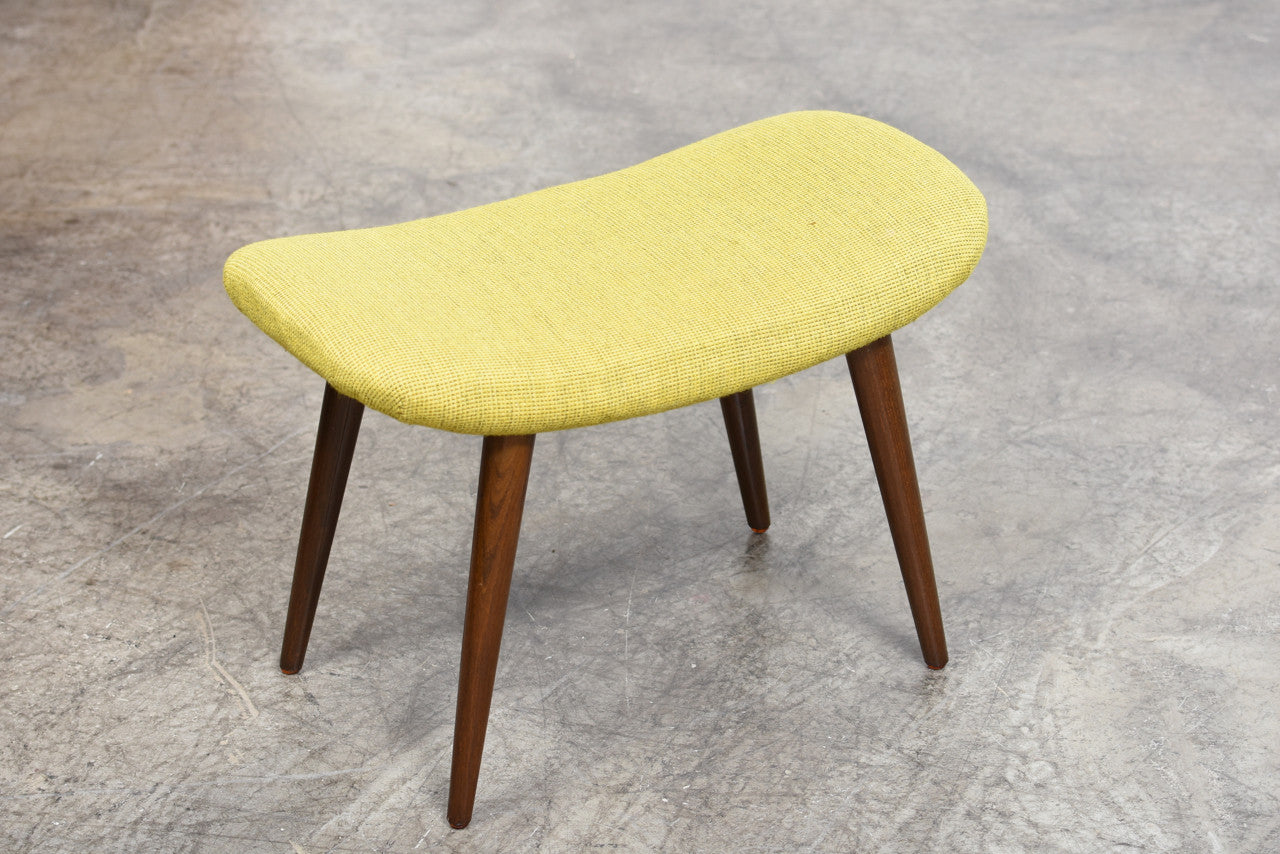 PrebenApril17 Foot stool with wool upholstery