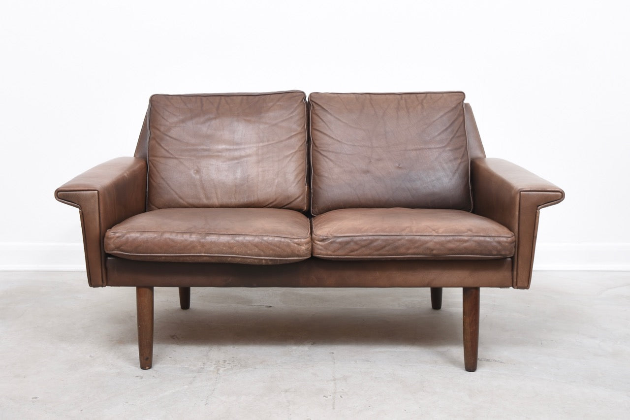StentebjergOctober2017 1960s two seat leather sofa