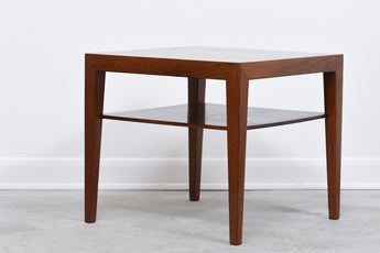 Rosewood occasional table by Haslev