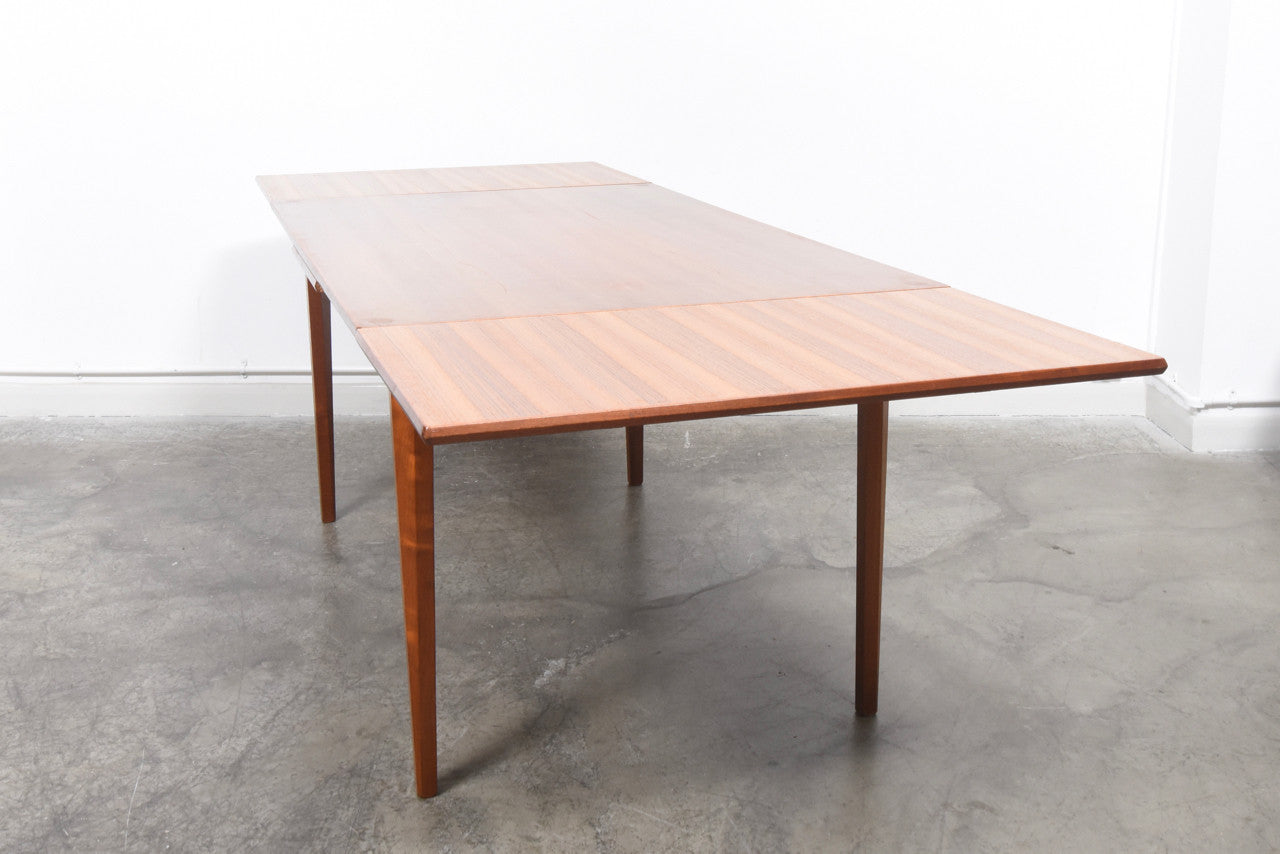 EternalLifeJan17 Extending rectangular dining table in teak