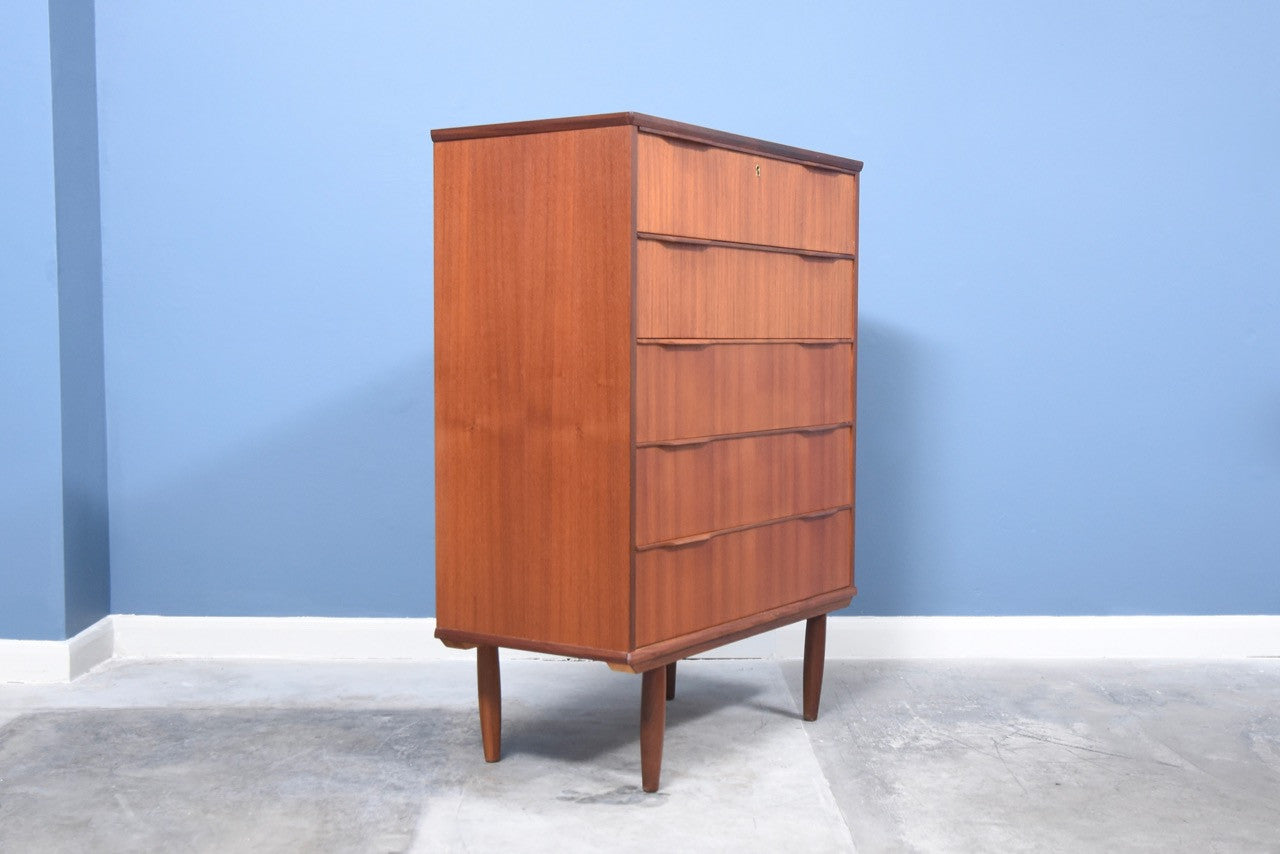 Not specified Teak chest of drawers (L)