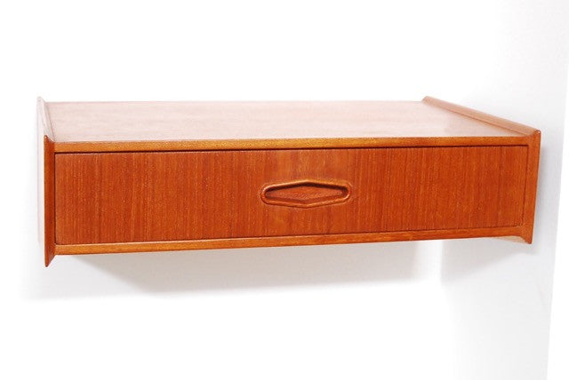 Generic Brand Floating teak drawer