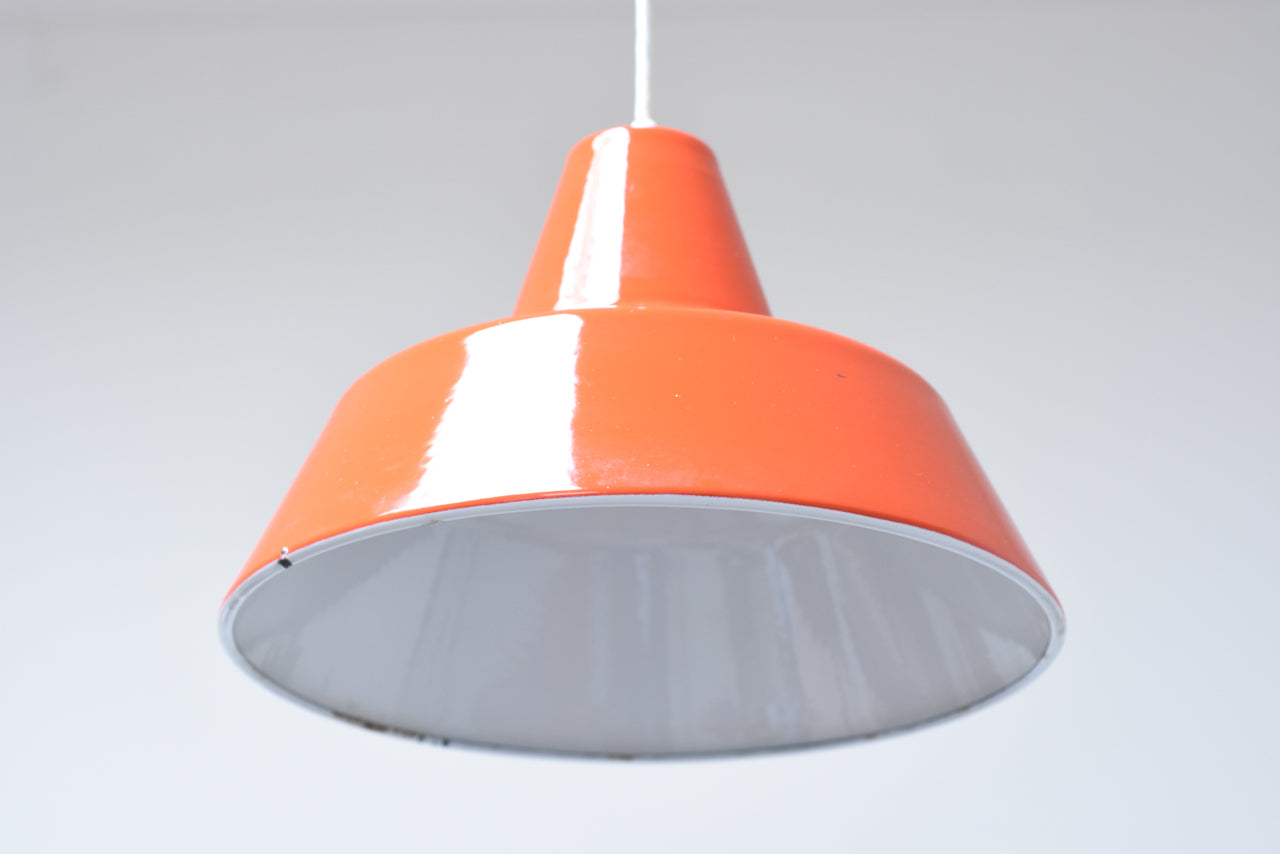 Two available: 'Verkstadspendel' ceiling light by Louis Poulsen