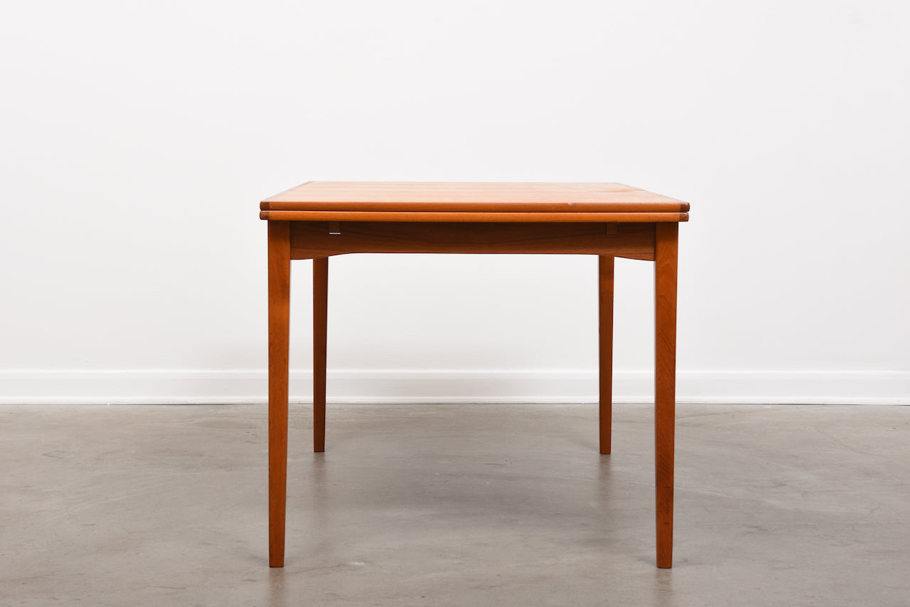 1960s extending dining table in teak