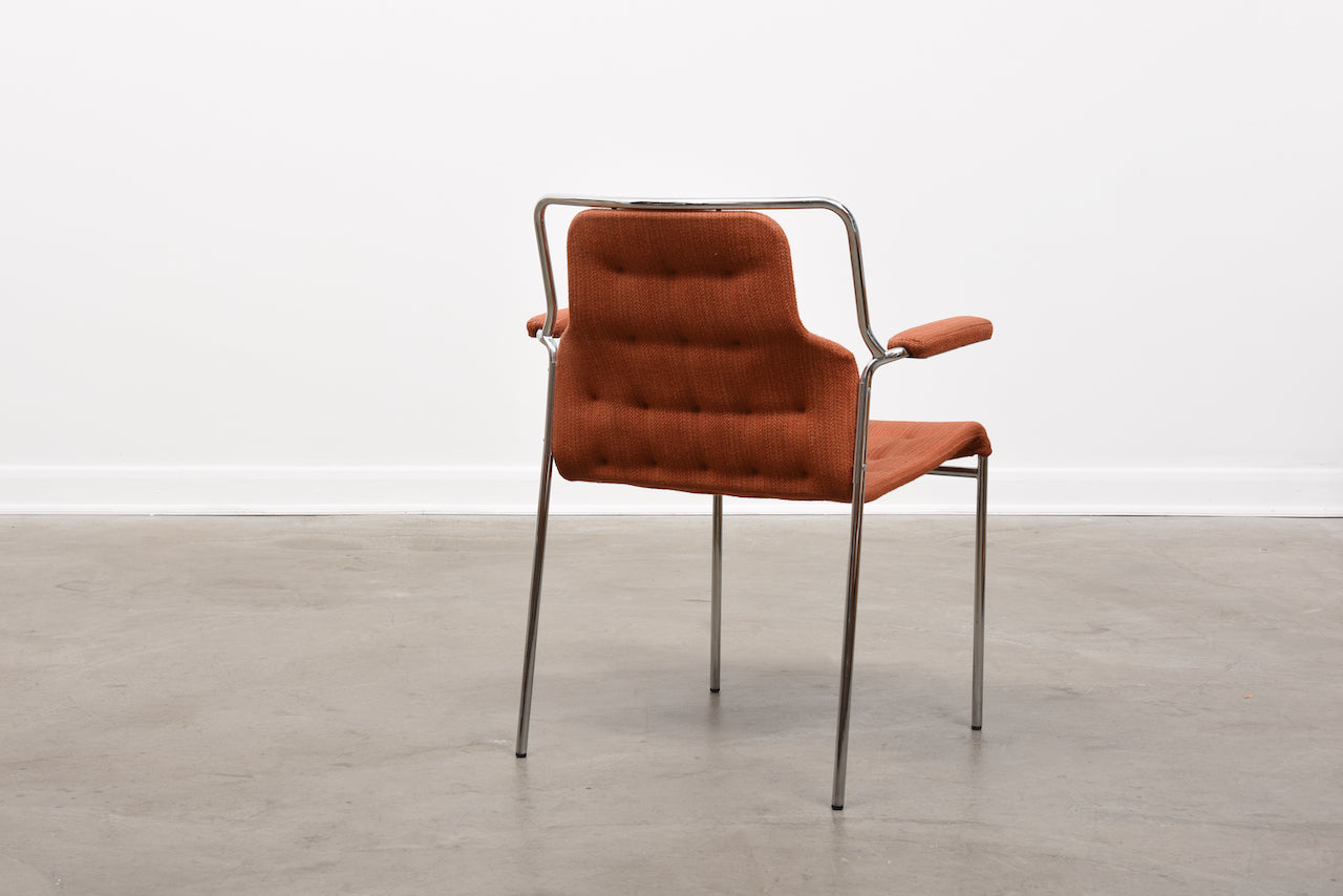 Four available: MI407 armchairs by Bruno Mathsson