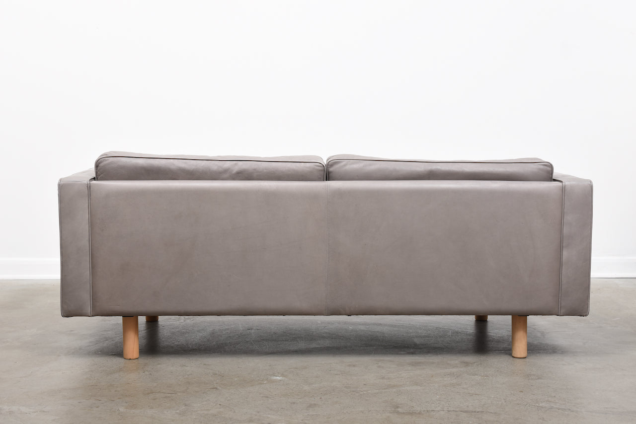Leather sofa by Mogens Hansen