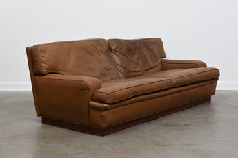 Mexico sofa in leather by Arne Norell