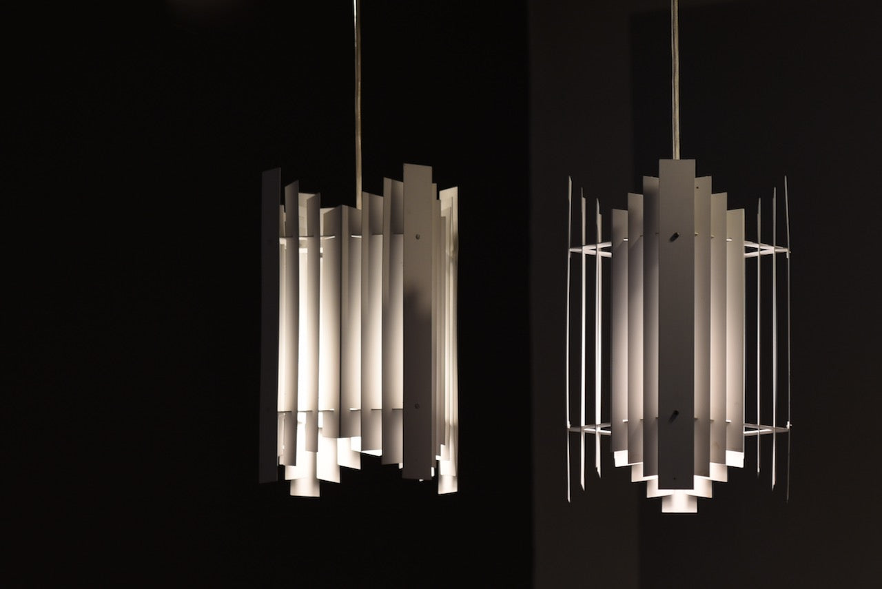 Two available: Ceiling lights by Preben Dahl