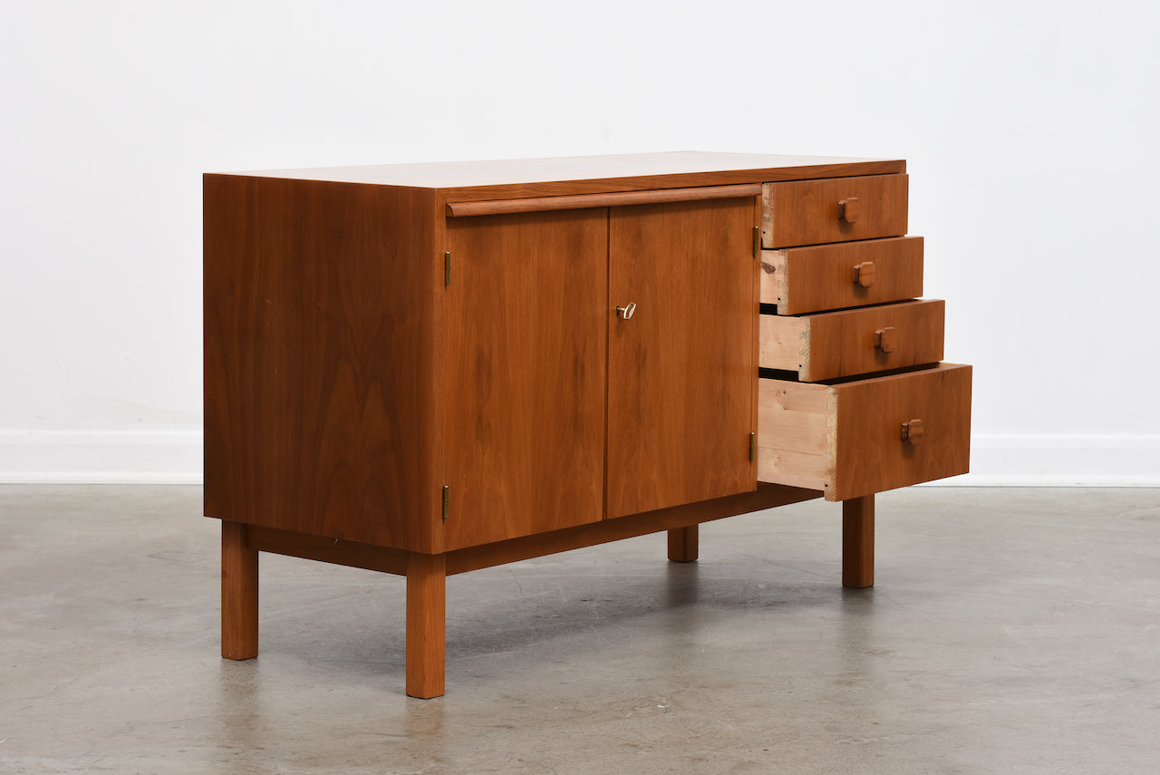 1960s Swedish teak sideboard