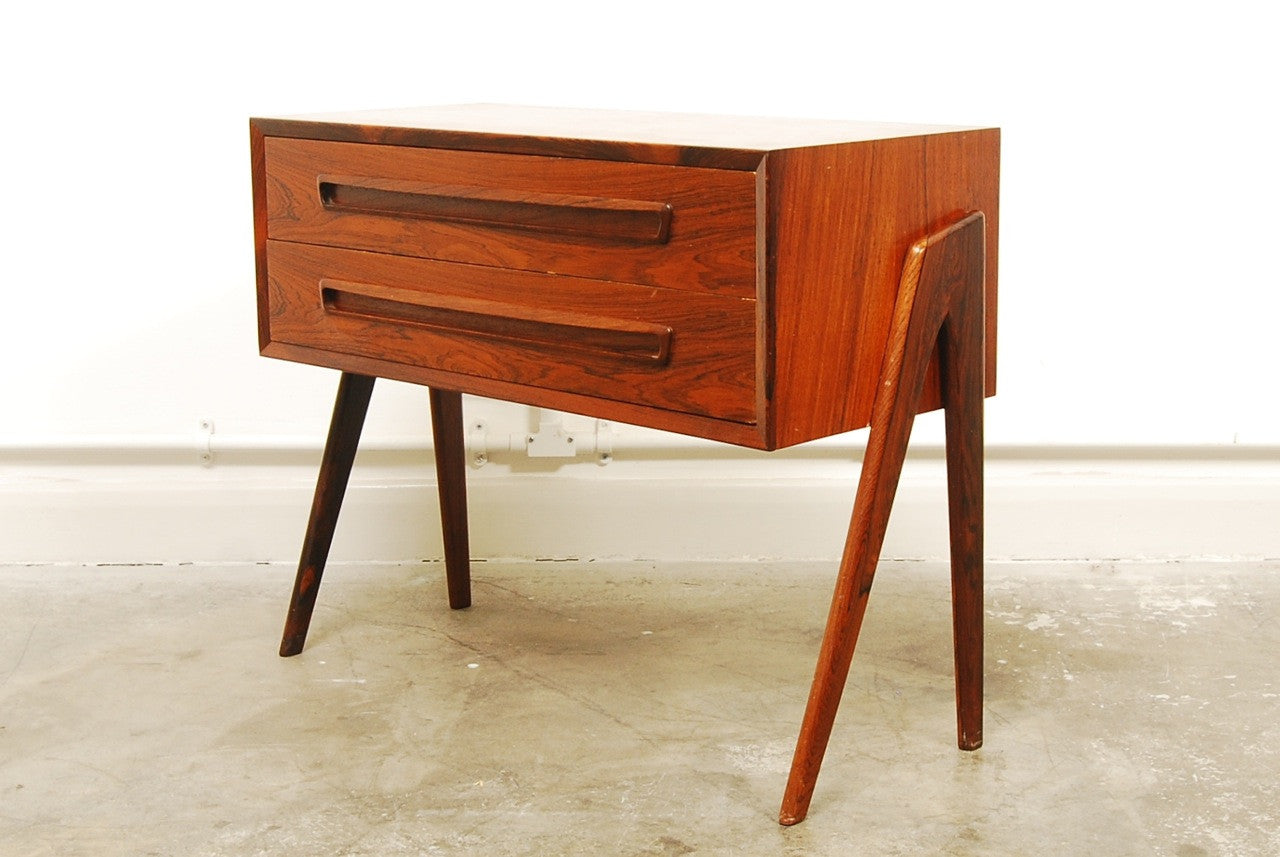 Low rosewood chest