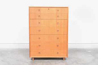 Finnish chest of drawers in birch